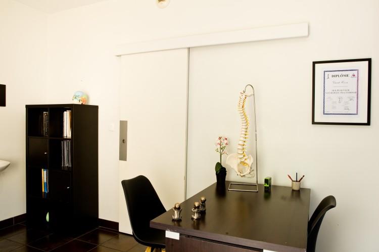 vue 3 de la salle d'ostéopathie