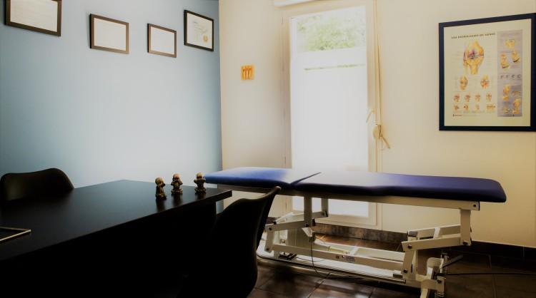 vue 1 de la salle d'ostéopathie